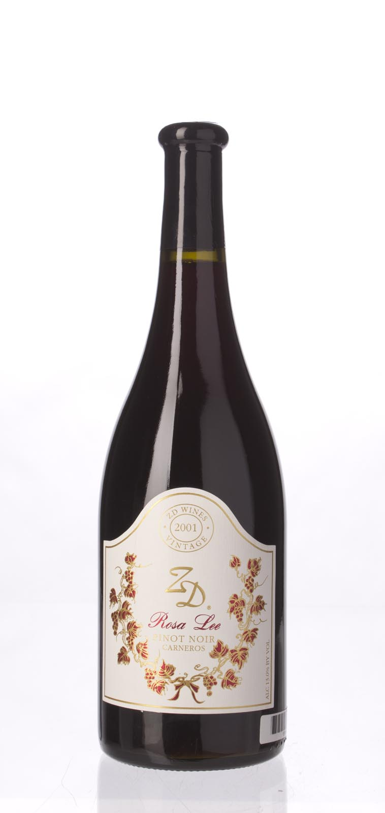 ZD Wines Pinot Noir Rosa Lee 2001, 750mL () from The BPW - Merchants of rare and fine wines.
