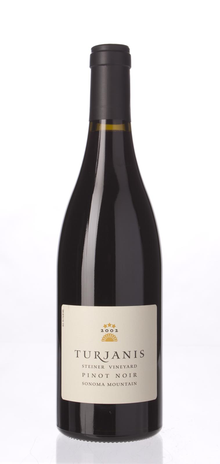 Turjanis Pinot Noir Steiner Vineyard 2002, 750mL () from The BPW - Merchants of rare and fine wines.
