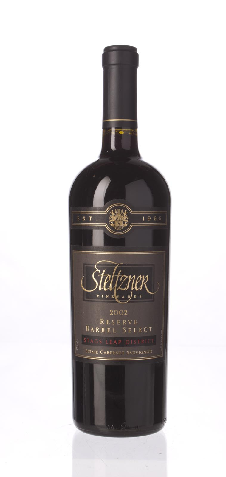 Steltzner Cabernet Sauvignon Barrel Select Reserve 2002, 750mL () from The BPW - Merchants of rare and fine wines.