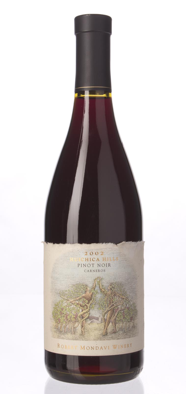 Robert Mondavi Pinot Noir Huichica Hills 2002, 750mL () from The BPW - Merchants of rare and fine wines.