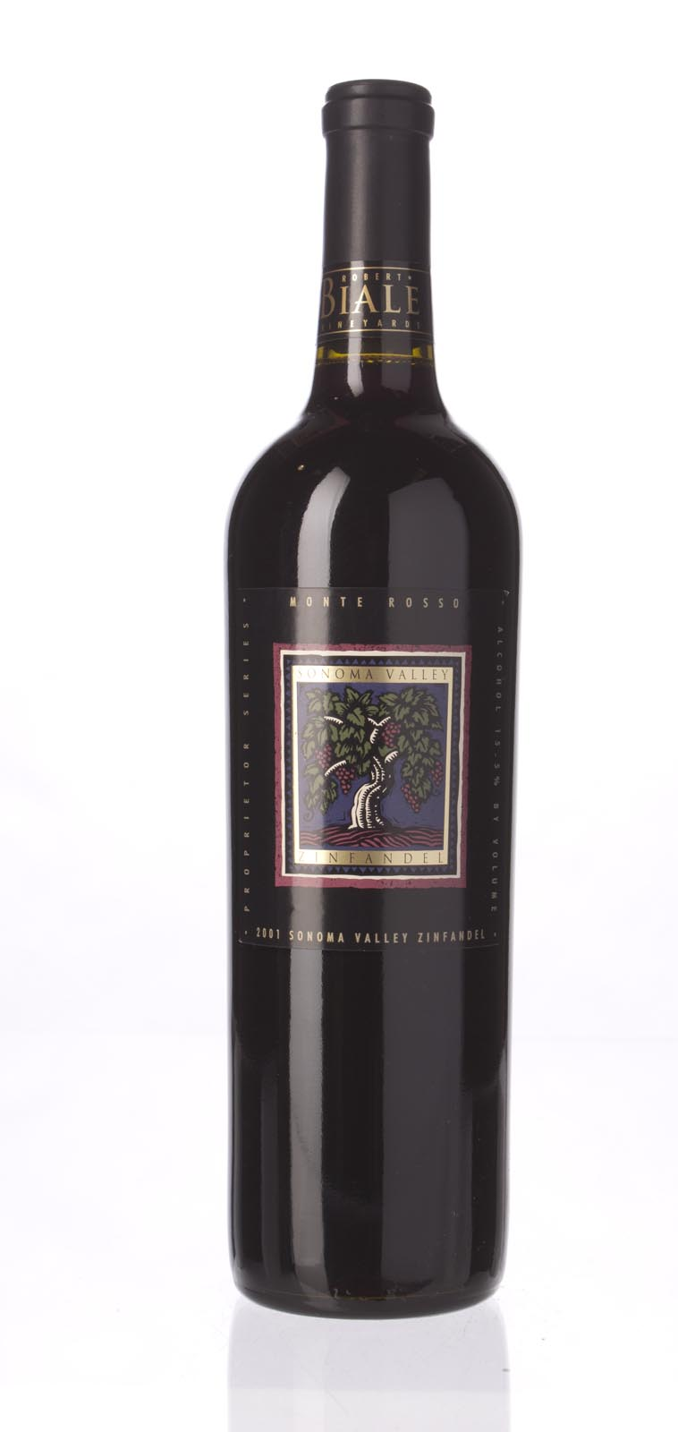 Robert Biale Zinfandel Monte Rosso 2001, 750mL (WA89) from The BPW - Merchants of rare and fine wines.