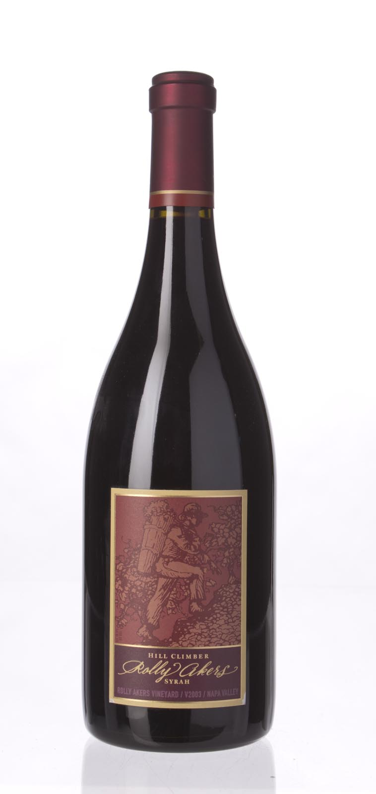 Hill Climber Syrah Rolly Akers 2003, 750mL (WA89) from The BPW - Merchants of rare and fine wines.