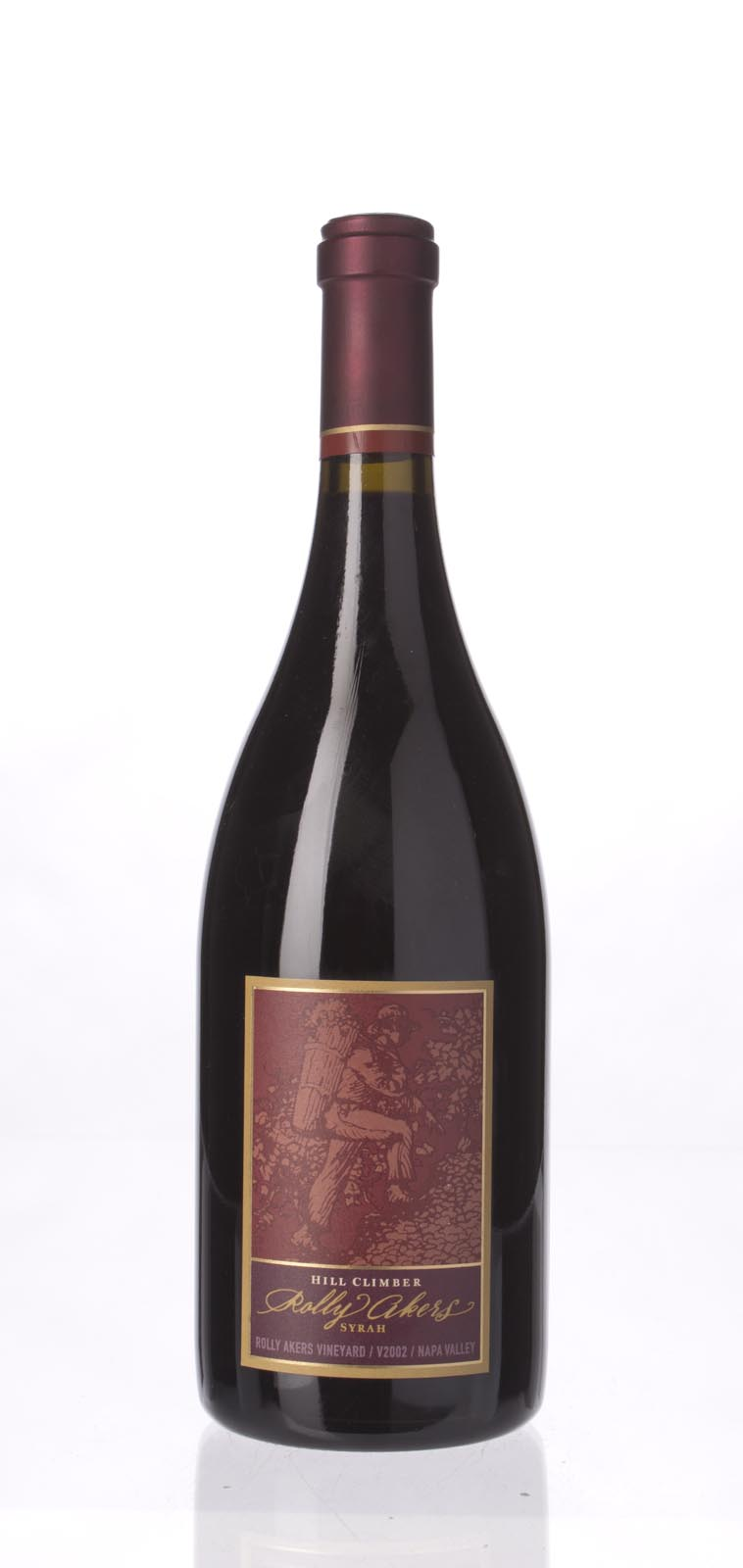 Hill Climber Syrah Rolly Akers 2002, 750mL (WS91) from The BPW - Merchants of rare and fine wines.