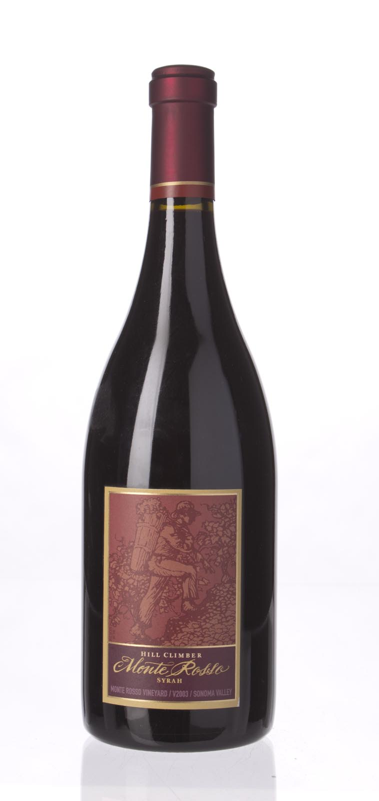 Hill Climber Syrah Monte Rosso 2003, 750mL (WA90, WS91) from The BPW - Merchants of rare and fine wines.