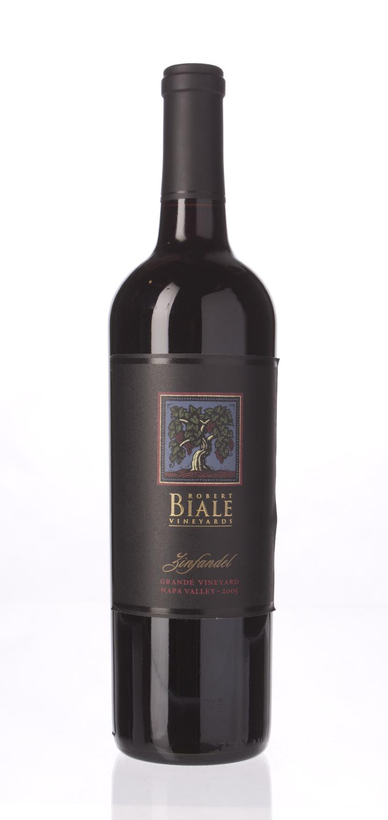 Robert Biale Zinfandel Grande Vineyards 2005, 750mL (WA89) from The BPW - Merchants of rare and fine wines.