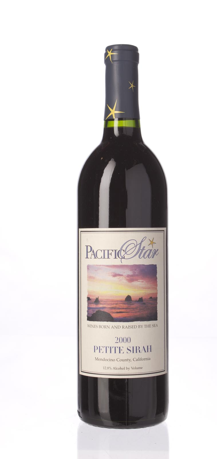 Pacific Star Winery Petite Sirah Mendocino 2000, 750mL () from The BPW - Merchants of rare and fine wines.
