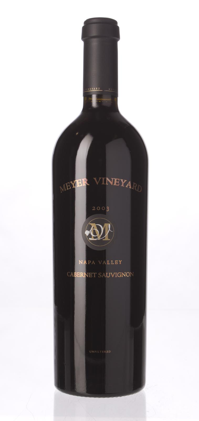 Meyer Cabernet Sauvignon Napa Valley 2003, 750mL (WS92) from The BPW - Merchants of rare and fine wines.