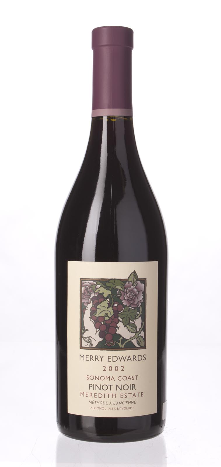 Merry Edwards Pinot Noir Meredith Estate 2002, 750mL () from The BPW - Merchants of rare and fine wines.