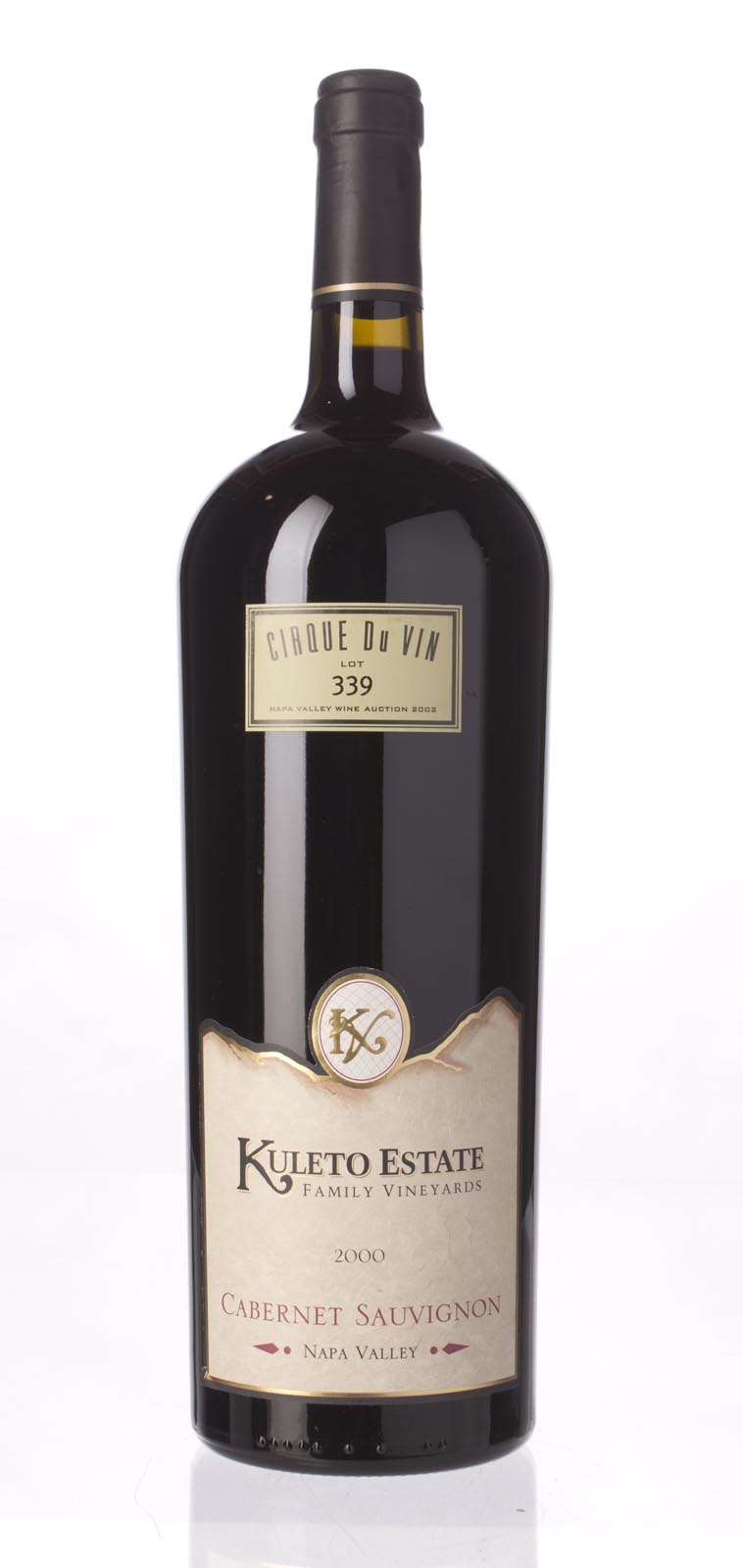 Kuleto Estate Cabernet Sauvignon Cirque du Vin 2000, 1.5L () from The BPW - Merchants of rare and fine wines.
