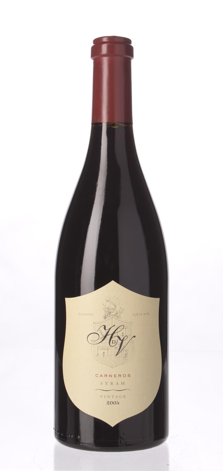 HdV Winery Syrah Carneros 2004, 750mL (ST92) from The BPW - Merchants of rare and fine wines.