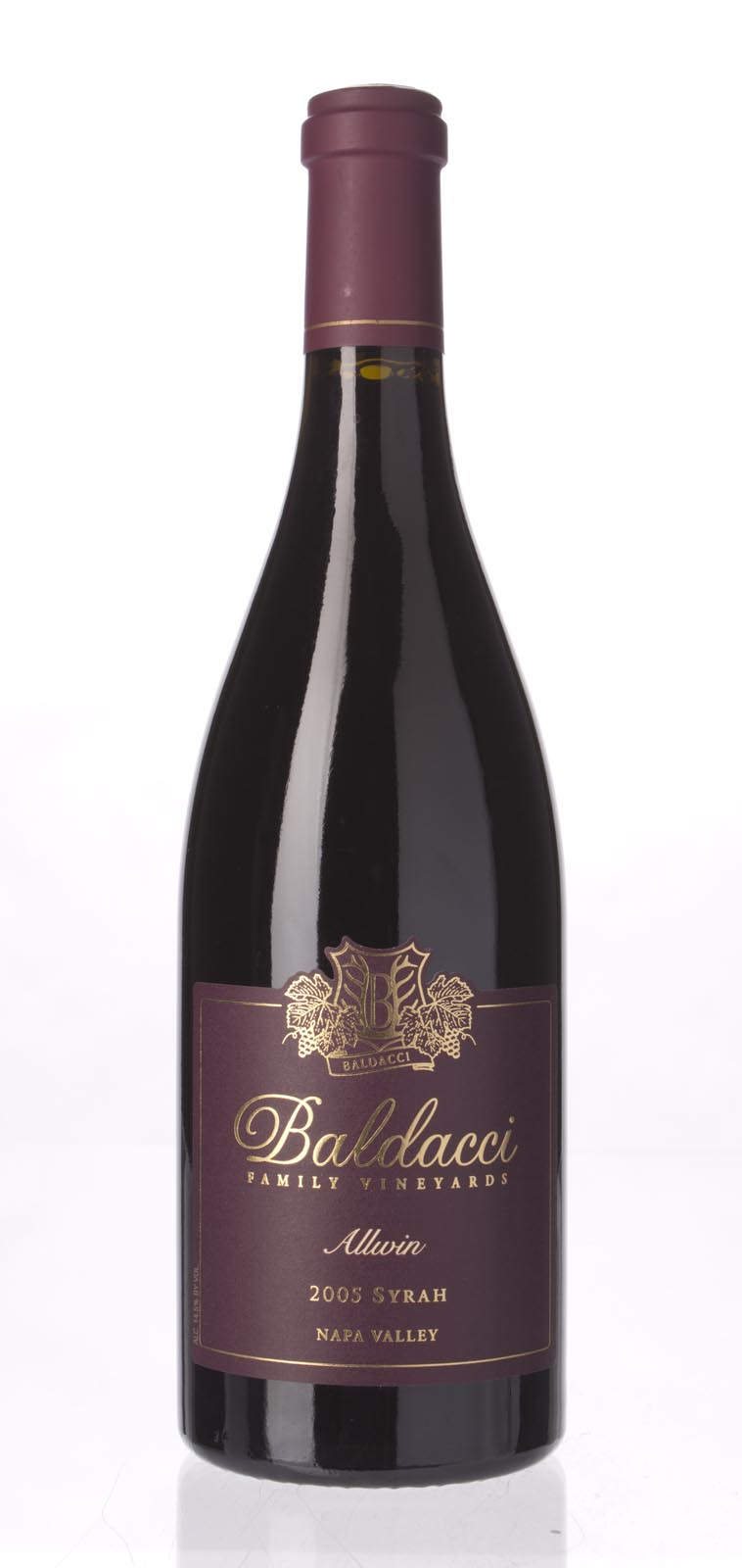 Baldacci Syrah Allwin 2005, 750mL () from The BPW - Merchants of rare and fine wines.
