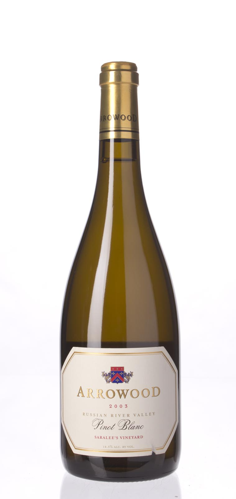 Arrowood Pinot Blanc Saralee`s Vineyard 2003, 750mL () from The BPW - Merchants of rare and fine wines.