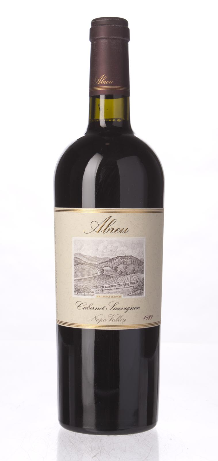 Abreu Cabernet Sauvignon Madrona Ranch 1989, 750mL (WS91) from The BPW - Merchants of rare and fine wines.
