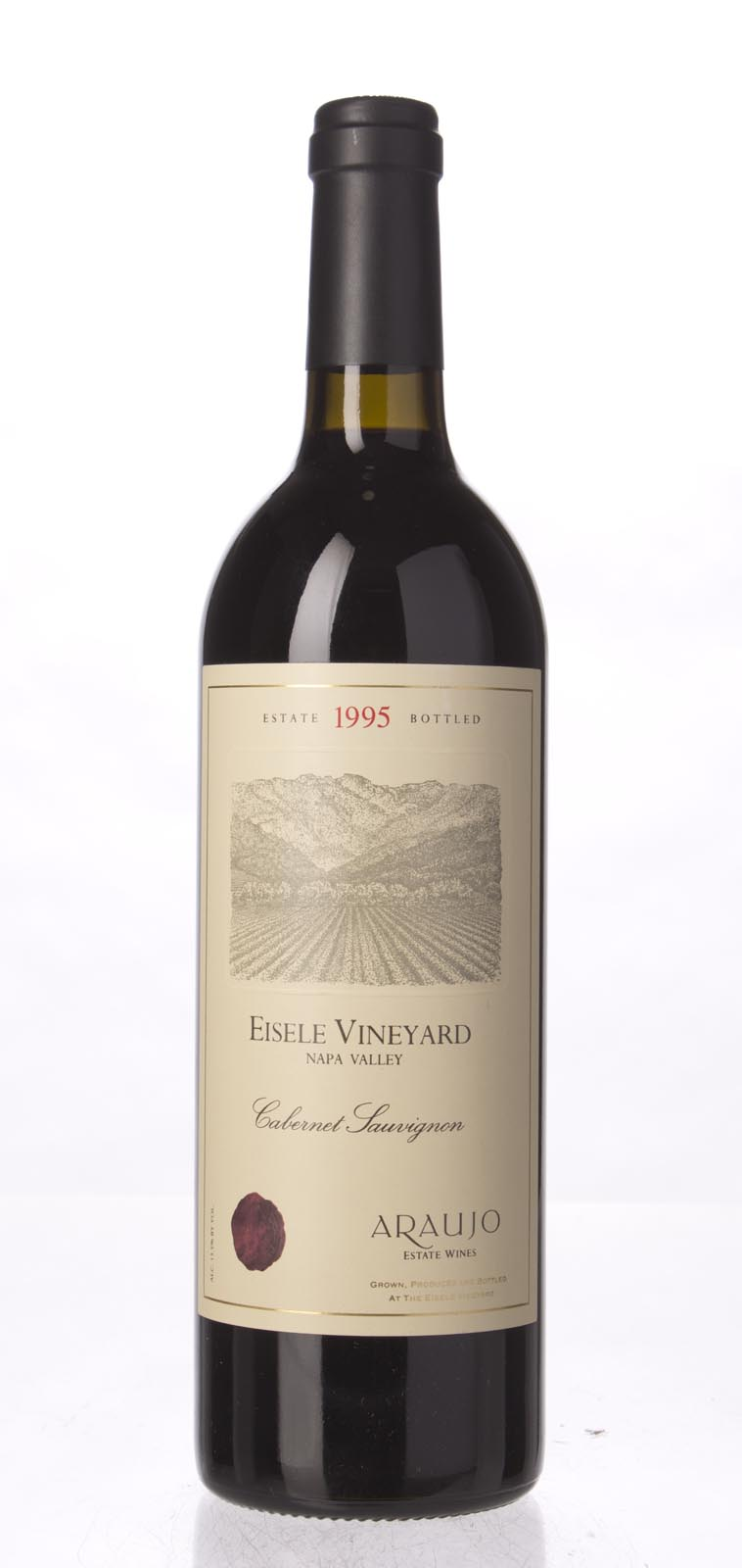 Araujo Estate Cabernet Sauvignon Eisele Vineyard 1995, 750mL (WA98) from The BPW - Merchants of rare and fine wines.