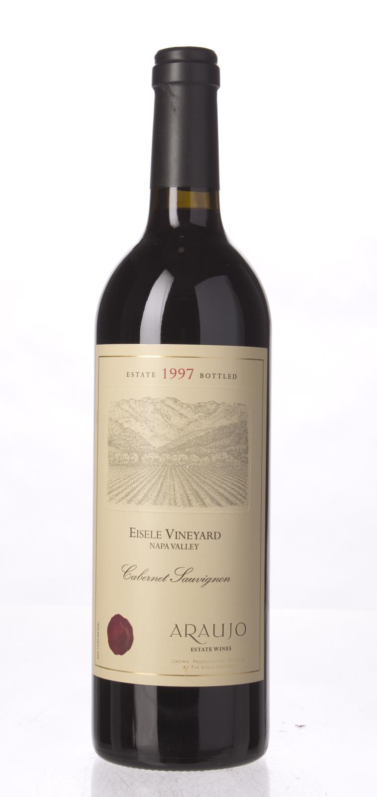 Araujo Estate Cabernet Sauvignon Eisele Vineyard 1997, 750mL (WS94) from The BPW - Merchants of rare and fine wines.