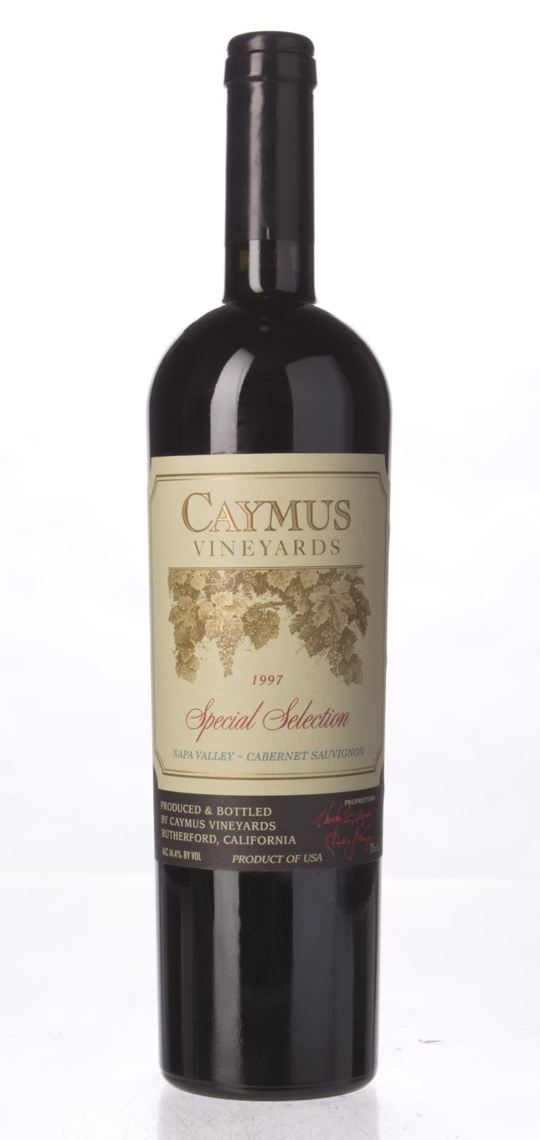 Caymus Cabernet Sauvignon Special Selection 1997, 750mL (WS95) from The BPW - Merchants of rare and fine wines.