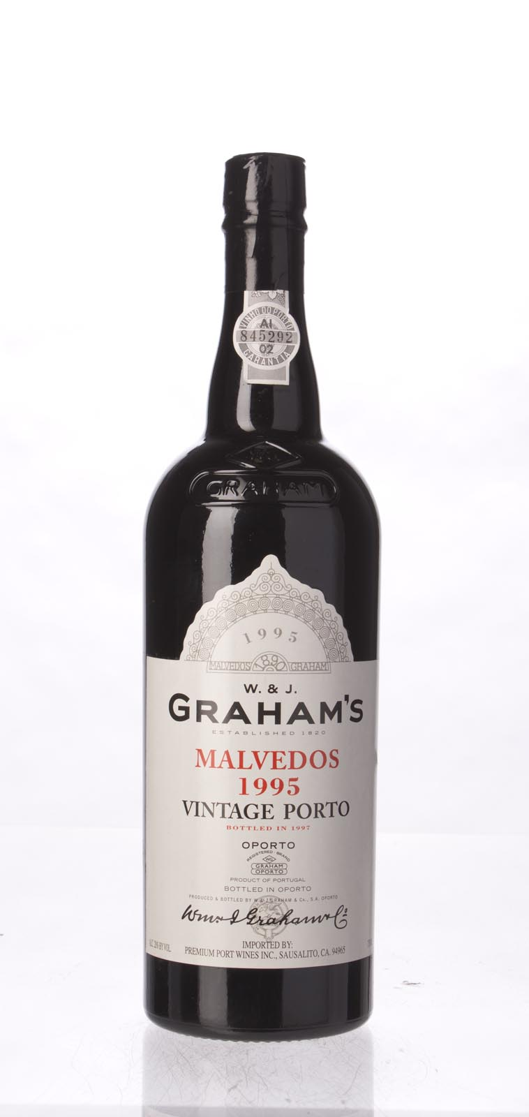 Graham Malvedos Vintage Port 1995, 750mL (ST90) from The BPW - Merchants of rare and fine wines.