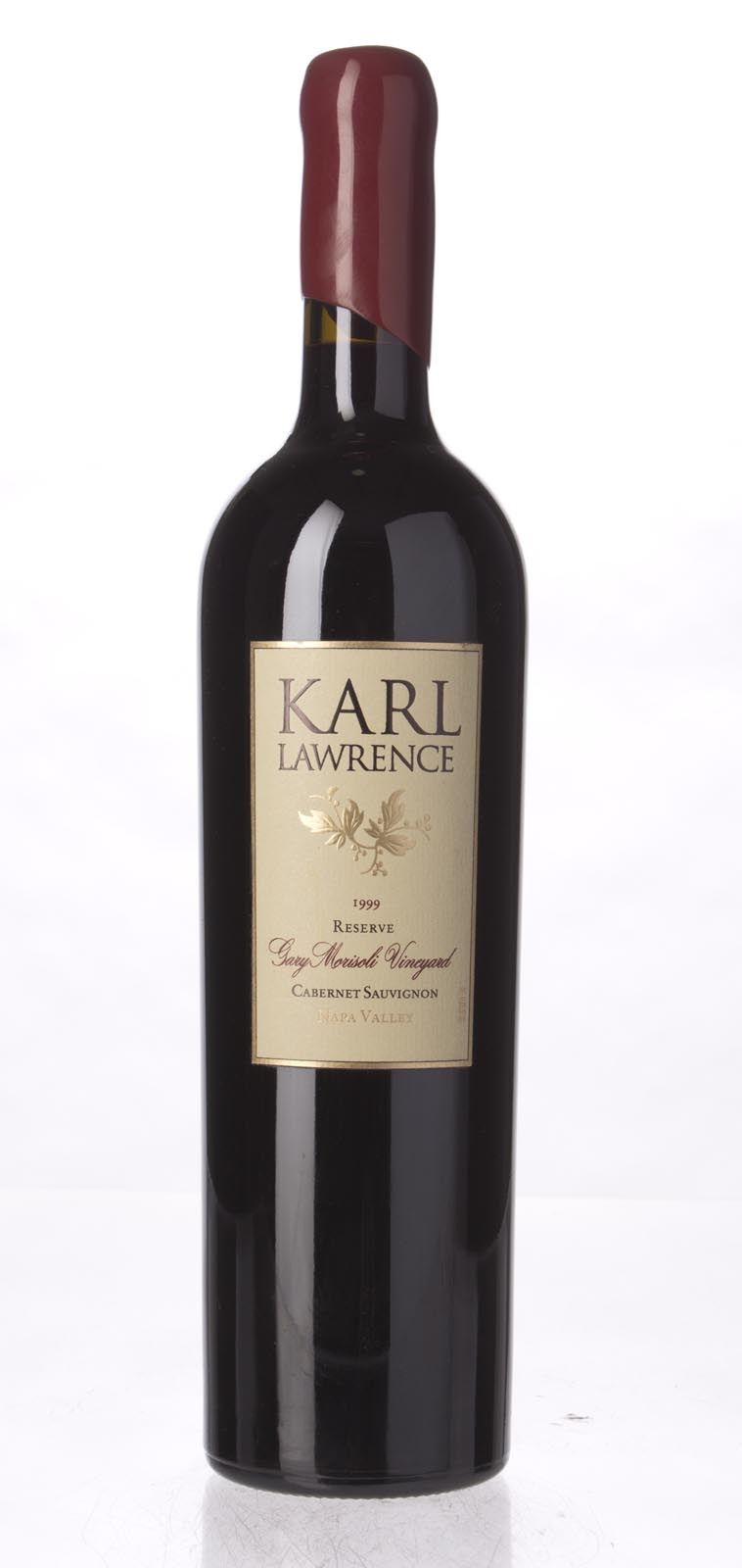 Karl Lawrence Cabernet Sauvignon Reserve Gary Morisoli Vineyard 1999, 750mL () from The BPW - Merchants of rare and fine wines.