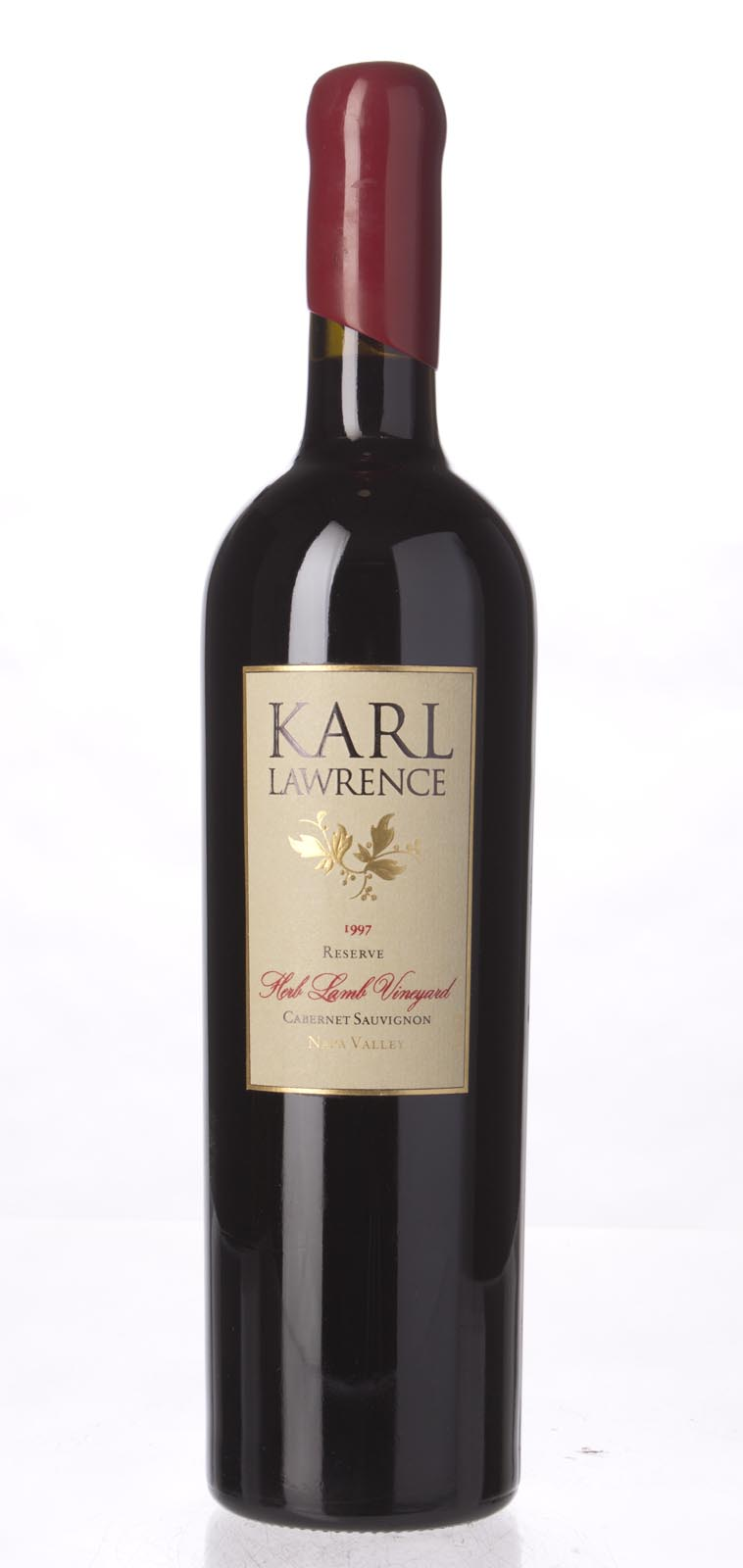 Karl Lawrence Cabernet Sauvignon Reserve Herb Lamb Vineyard 1997, 750mL () from The BPW - Merchants of rare and fine wines.