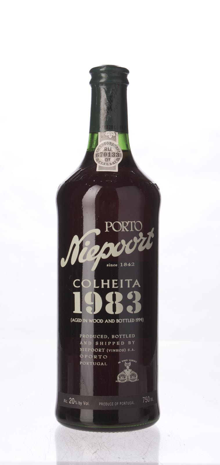 Niepoort Tawny Port Colheita 1983, 750mL (WS95) from The BPW - Merchants of rare and fine wines.