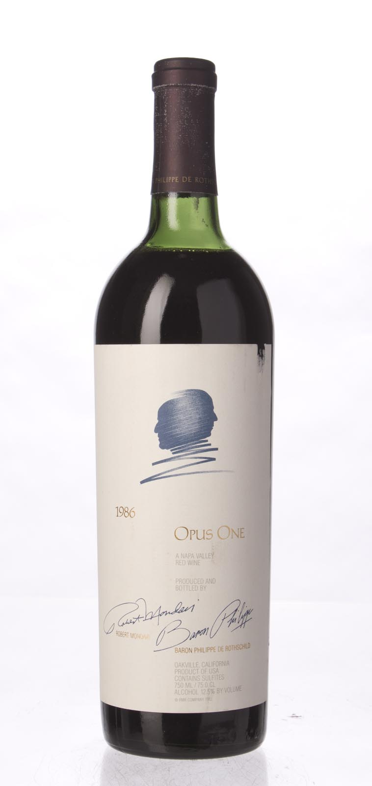 Opus One Proprietary Red Wine 1986, 750mL (WS95) from The BPW - Merchants of rare and fine wines.