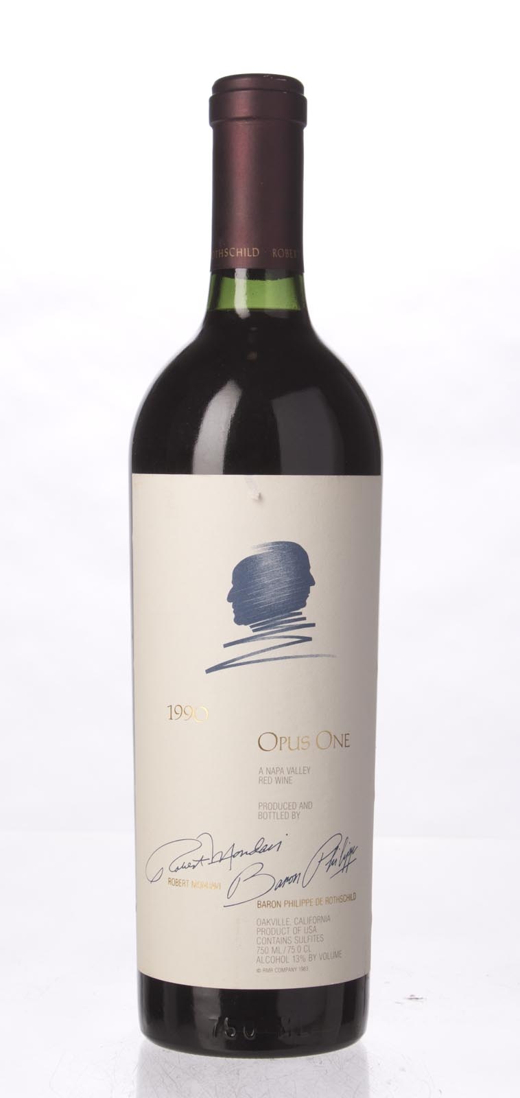 Opus One Proprietary Red Wine 1990, 750mL (WS96) from The BPW - Merchants of rare and fine wines.
