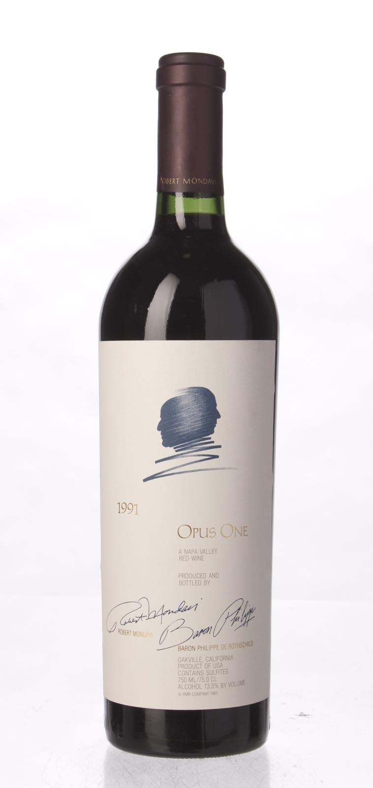 Opus One Proprietary Red Wine 1991, 750mL (WS97) from The BPW - Merchants of rare and fine wines.