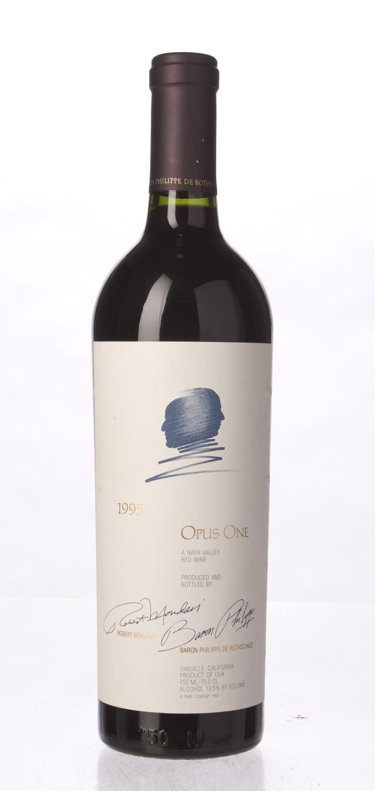 Opus One Proprietary Red Wine 1995, 750mL (WS95) from The BPW - Merchants of rare and fine wines.