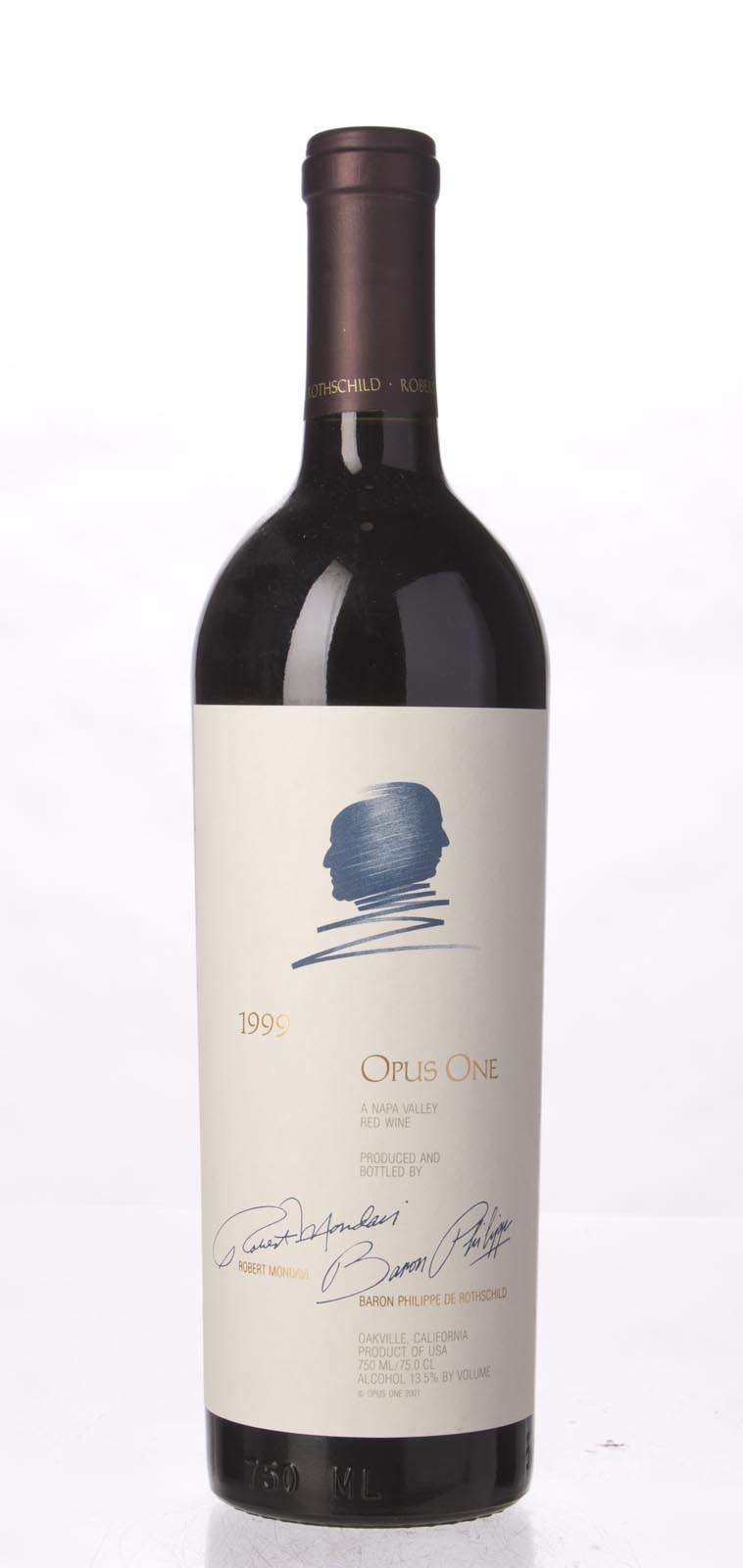 Opus One Proprietary Red Wine 1999, 750mL (ST92, WS93) from The BPW - Merchants of rare and fine wines.