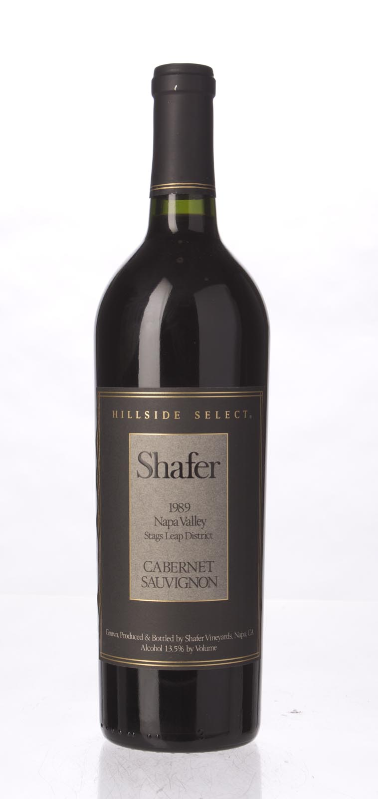 Shafer Cabernet Sauvignon Hillside Select 1989, 750mL (WA90) from The BPW - Merchants of rare and fine wines.