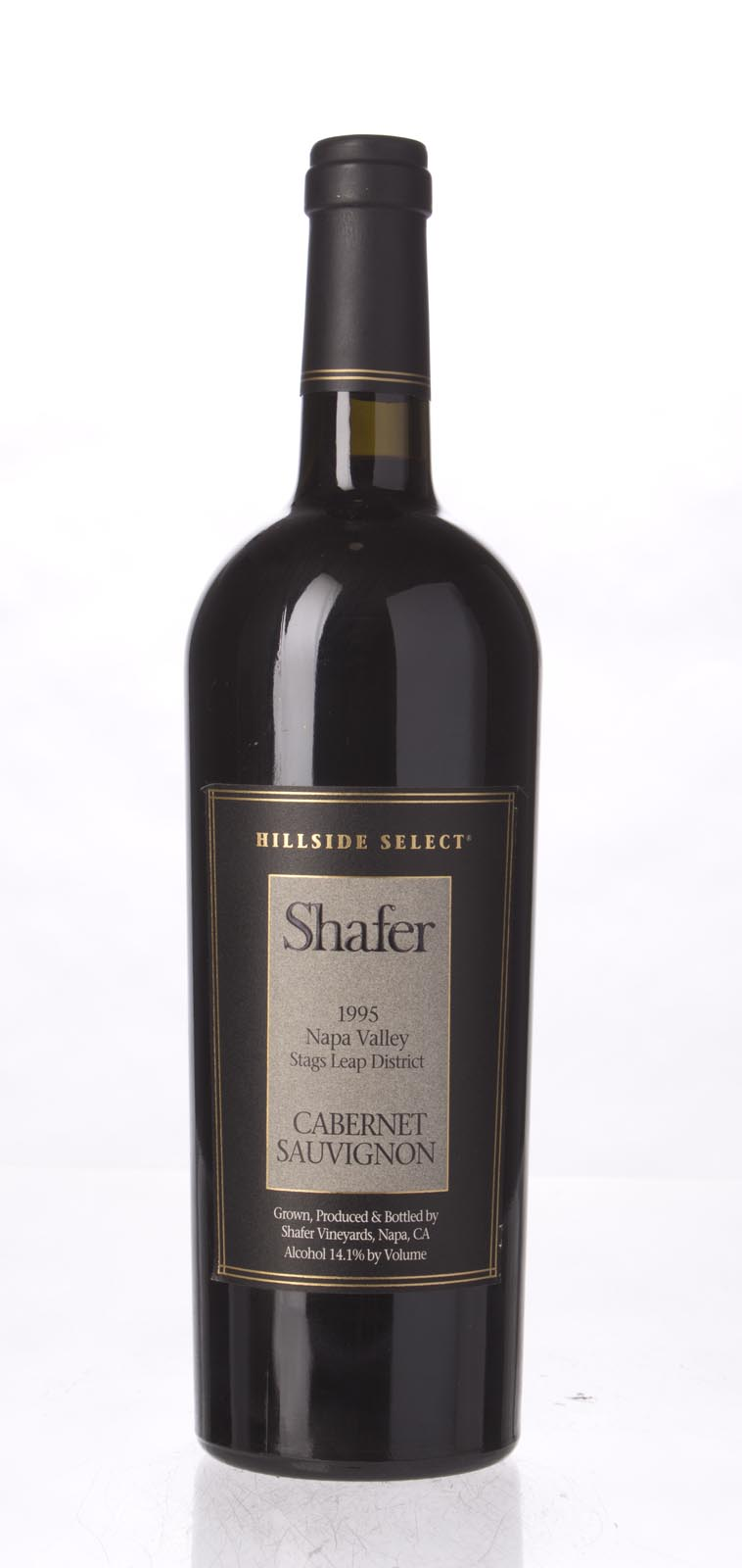 Shafer Cabernet Sauvignon Hillside Select 1995, 750mL (WA99) from The BPW - Merchants of rare and fine wines.