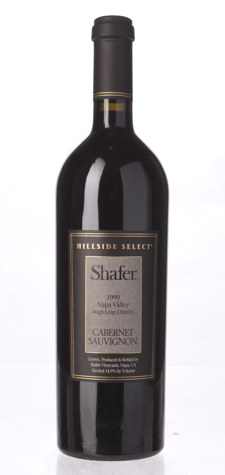 Shafer Cabernet Sauvignon Hillside Select 1999, 750mL (WA97, WS97) from The BPW - Merchants of rare and fine wines.