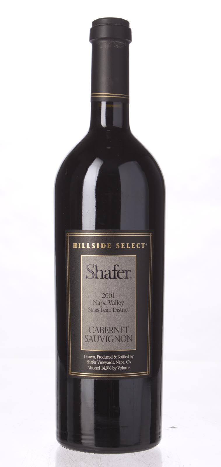 Shafer Cabernet Sauvignon Hillside Select 2001, 750mL (WA100) from The BPW - Merchants of rare and fine wines.