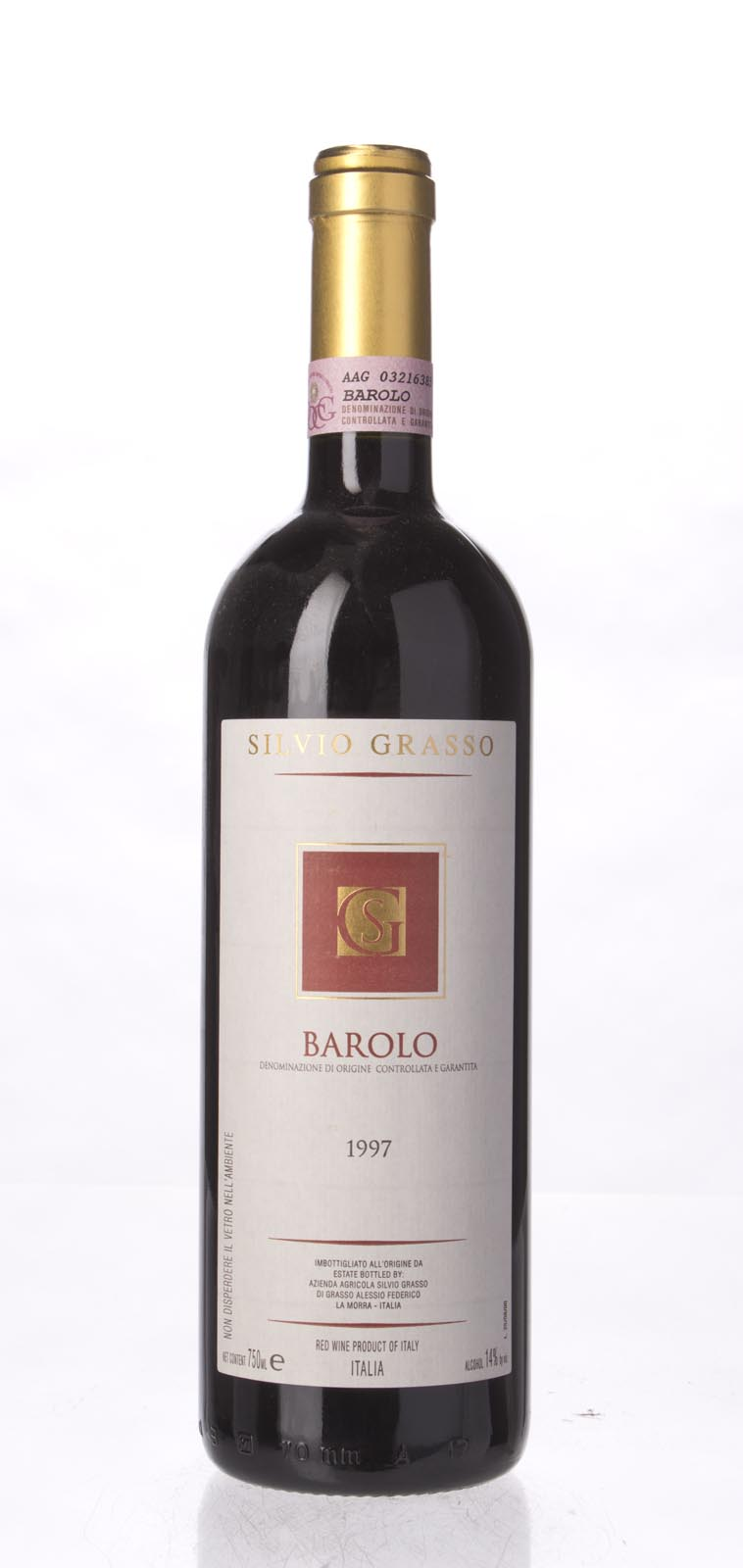 Silvio Grasso Barolo 1997, 750mL (WS93) from The BPW - Merchants of rare and fine wines.