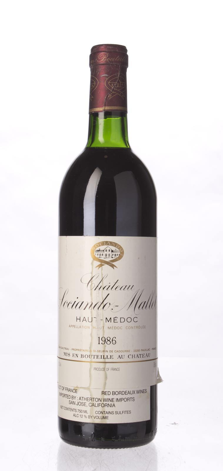 Sociando Mallet 1986, 750mL (WS94) from The BPW - Merchants of rare and fine wines.