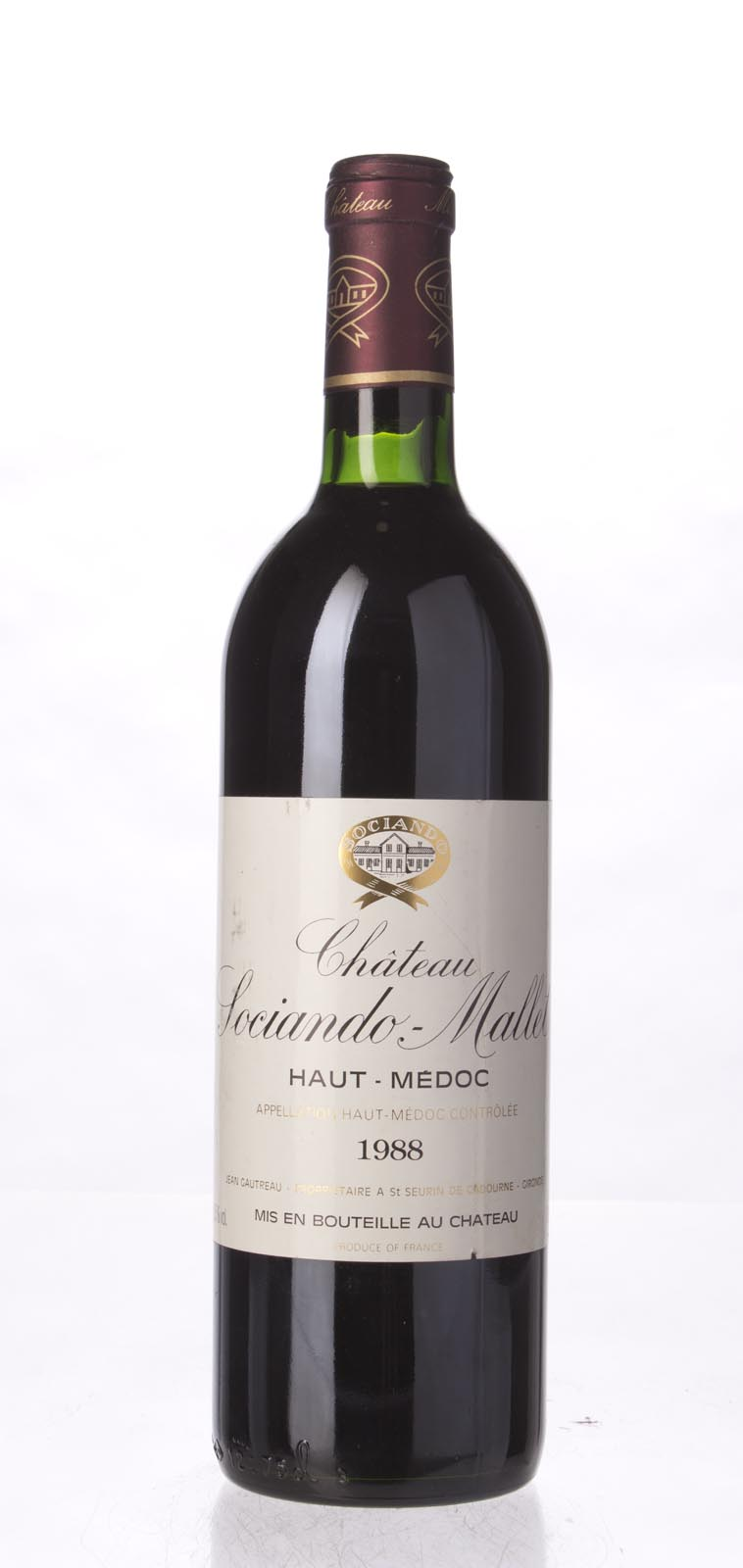 Sociando Mallet 1988, 750mL (WS91) from The BPW - Merchants of rare and fine wines.