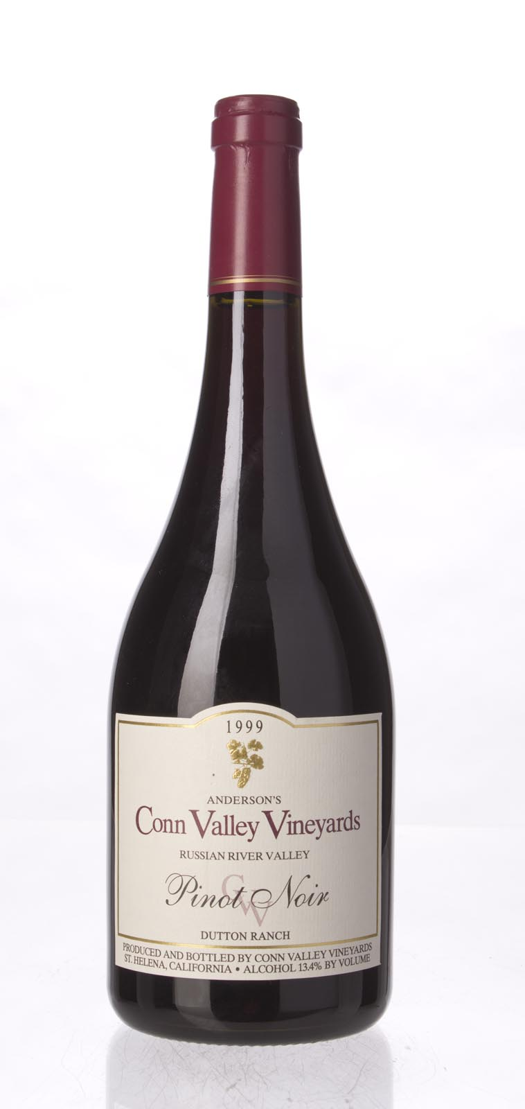 Anderson`s Conn Valley Pinot Noir Dutton Ranch 1999, 750mL () from The BPW - Merchants of rare and fine wines.