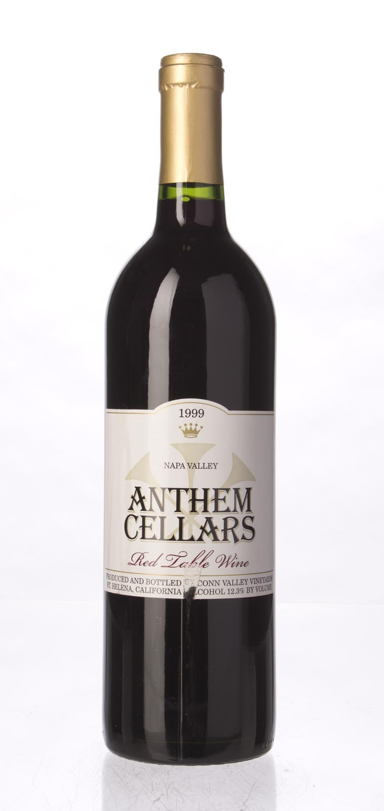 Anderson`s Conn Valley Proprietary Red Anthem 1999, 750mL () from The BPW - Merchants of rare and fine wines.