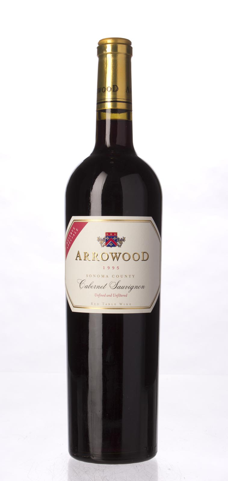 Arrowood Cabernet Sauvignon Reserve Speciale 1995, 750mL (WA94, WS94) from The BPW - Merchants of rare and fine wines.