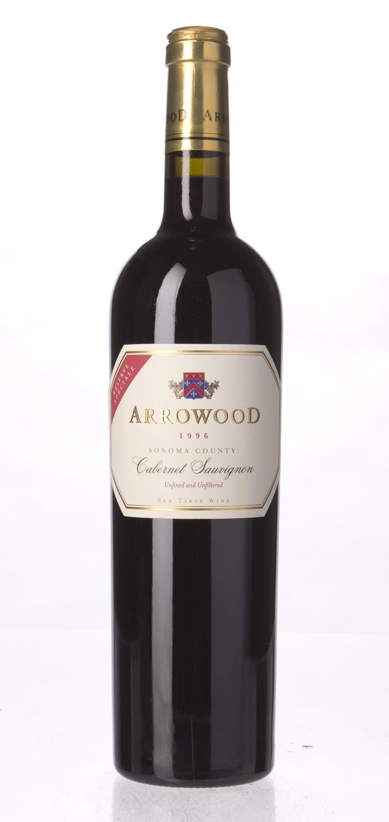 Arrowood Cabernet Sauvignon Reserve Speciale 1996, 750mL (WA90) from The BPW - Merchants of rare and fine wines.
