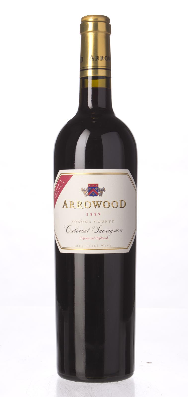 Arrowood Cabernet Sauvignon Reserve Speciale 1997, 750mL (WA97) from The BPW - Merchants of rare and fine wines.