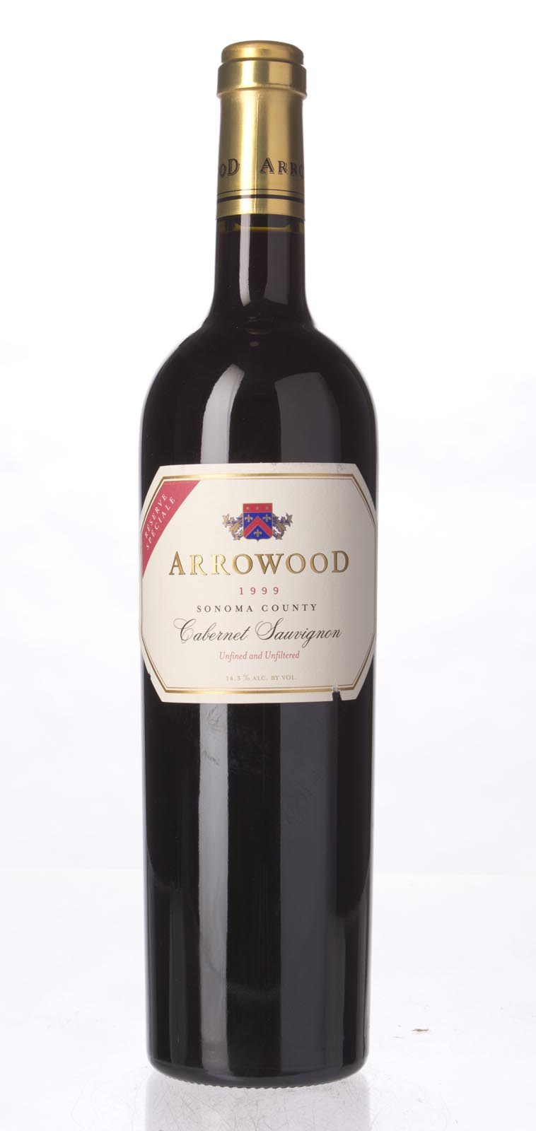 Arrowood Cabernet Sauvignon Reserve Speciale 1999, 750mL (WA91, ST90, WS92) from The BPW - Merchants of rare and fine wines.