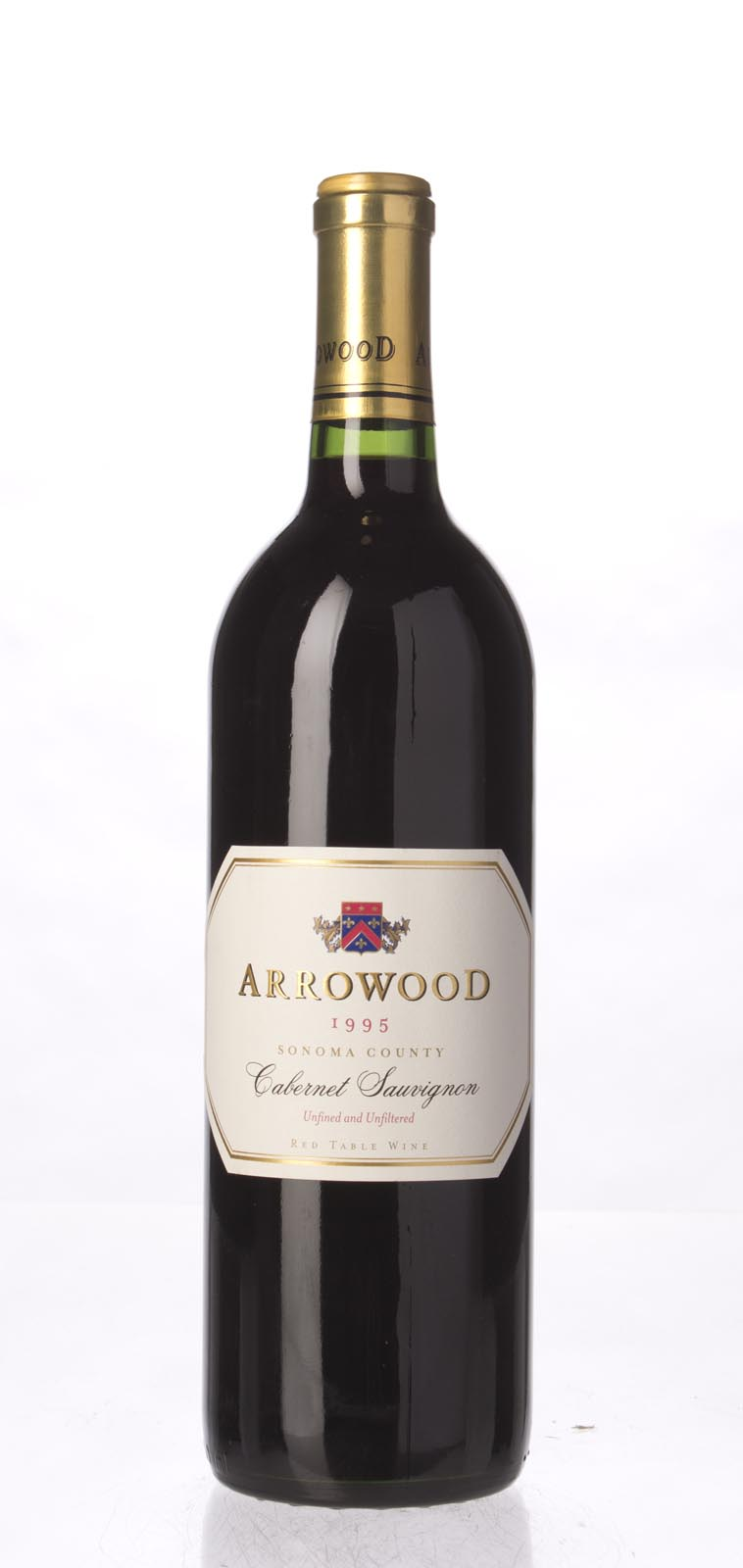 Arrowood Cabernet Sauvignon Sonoma County 1995, 750mL (WA91) from The BPW - Merchants of rare and fine wines.