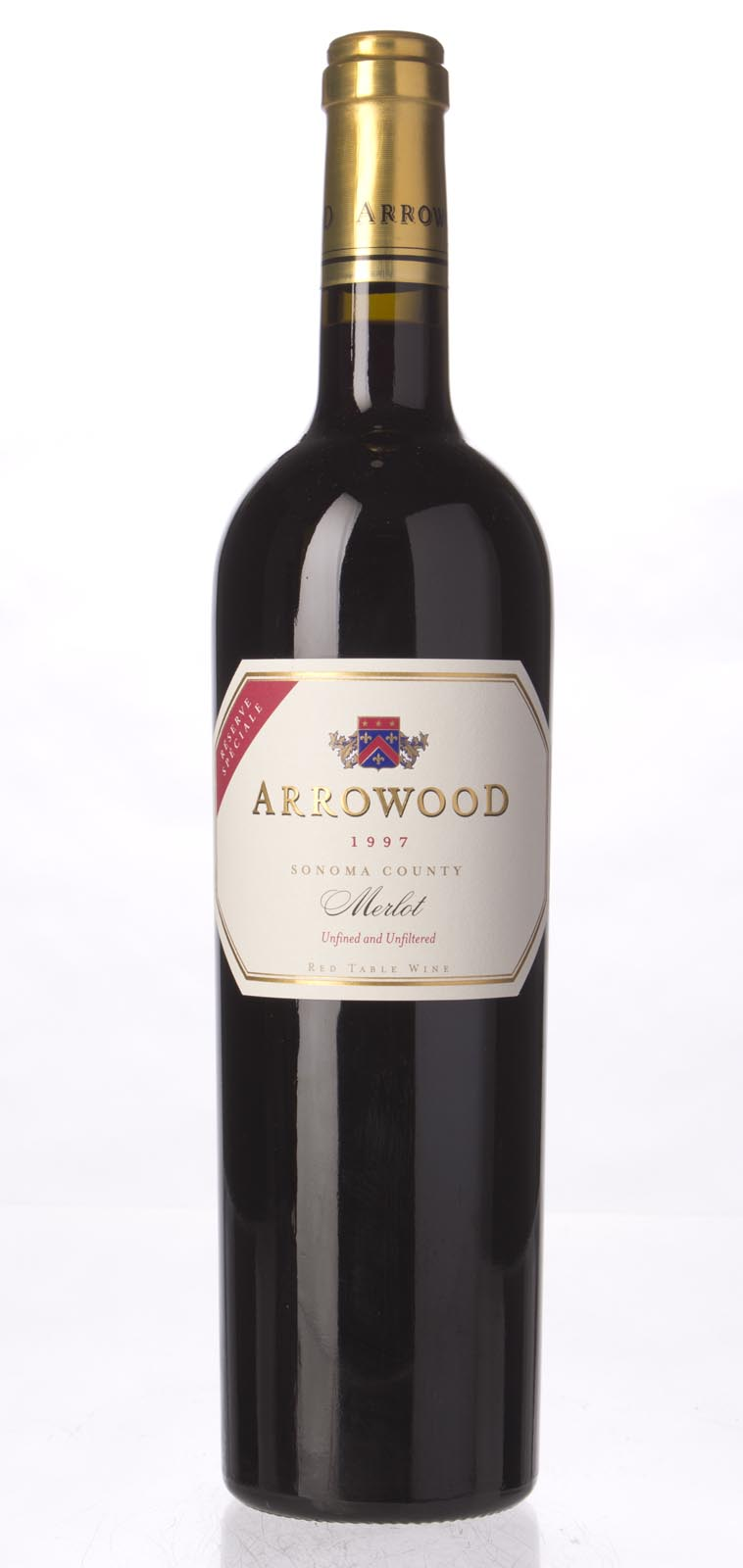 Arrowood Merlot Reserve Speciale 1997, 750mL (WA90) from The BPW - Merchants of rare and fine wines.