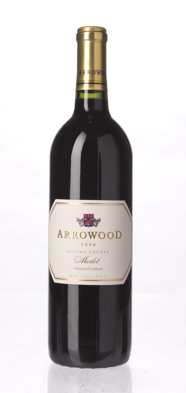 Arrowood Merlot Sonoma County 1996, 750mL () from The BPW - Merchants of rare and fine wines.