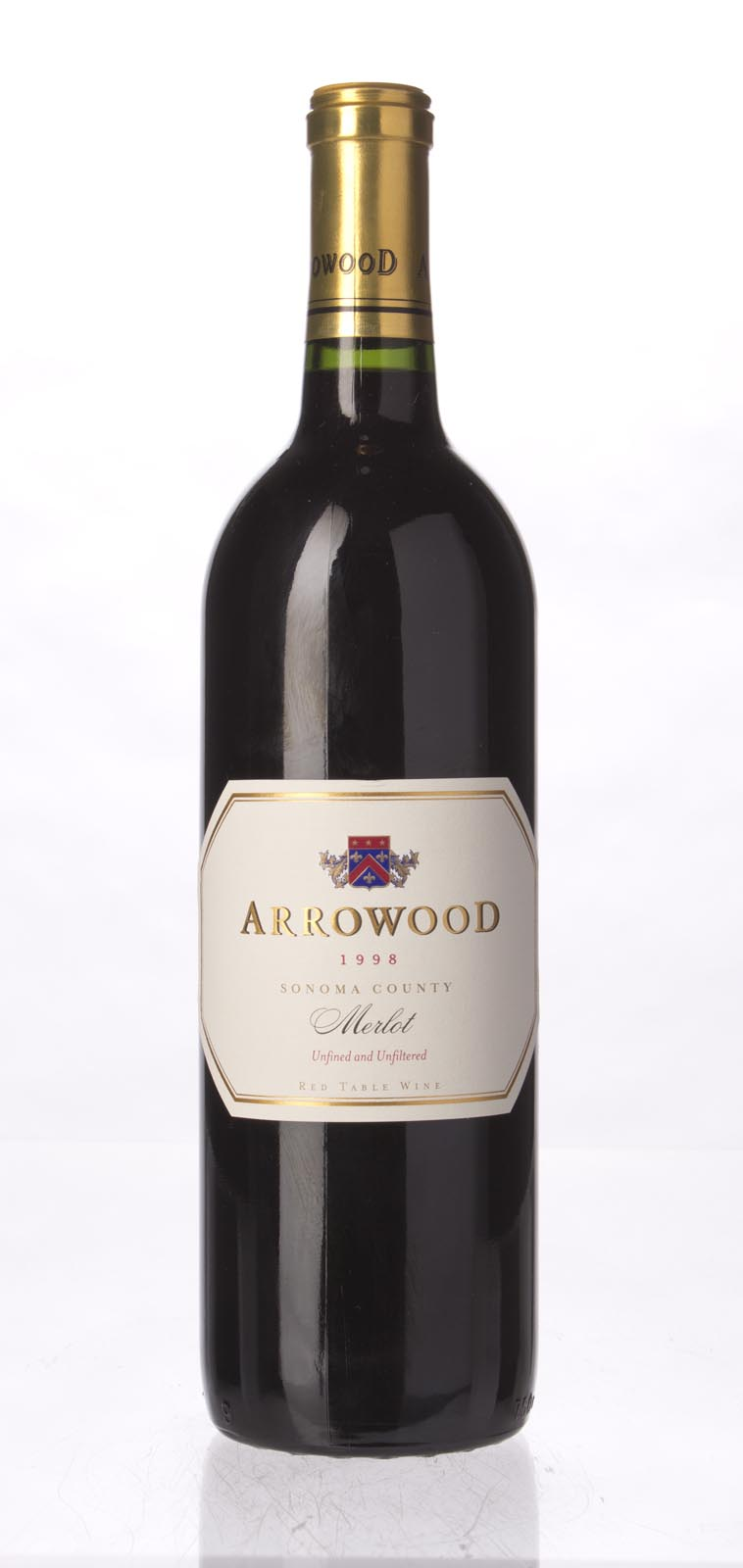 Arrowood Merlot Sonoma County 1998, 750mL () from The BPW - Merchants of rare and fine wines.