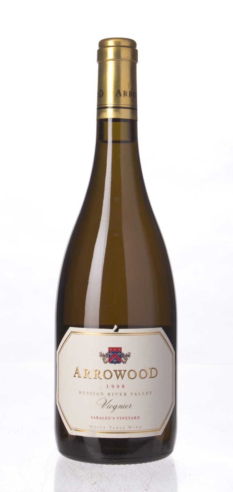 Arrowood Viognier Saralee`s Vineyard 1998, 750mL (WA90) from The BPW - Merchants of rare and fine wines.