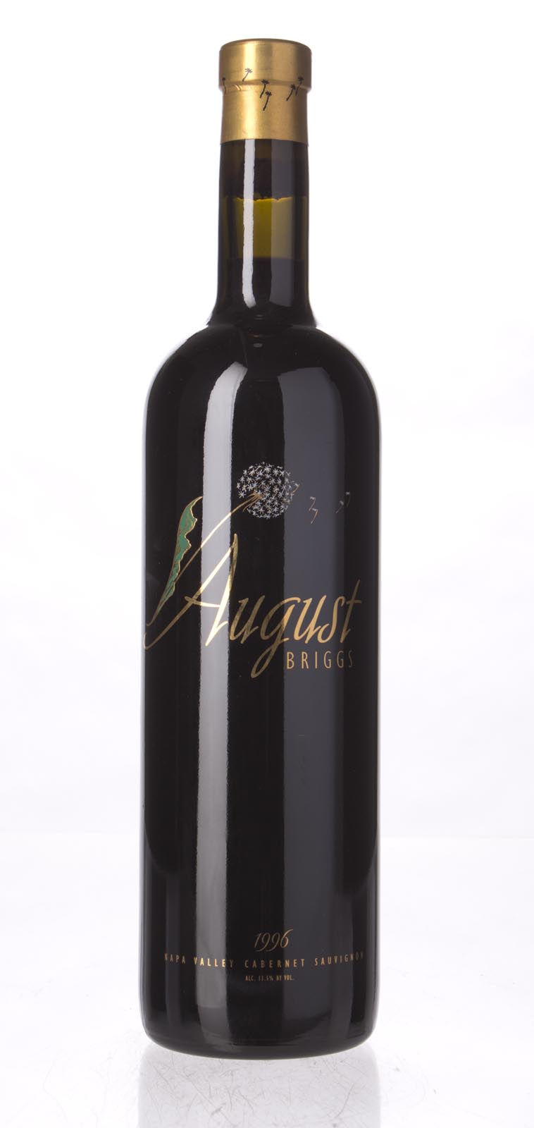 August Briggs Cabernet Sauvignon Napa Valley 1996, 750mL (WS91) from The BPW - Merchants of rare and fine wines.