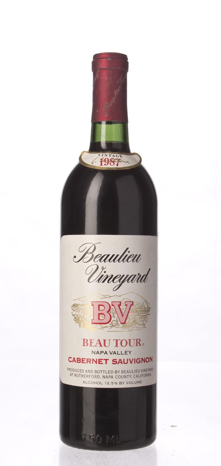 Beaulieu Vineyard Cabernet Sauvignon Beautour 1987, 750mL () from The BPW - Merchants of rare and fine wines.