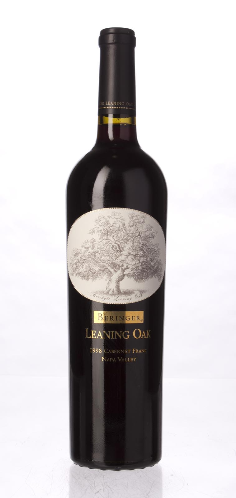 Beringer Cabernet Franc Leaning Oak Vineyard 1998, 750mL () from The BPW - Merchants of rare and fine wines.